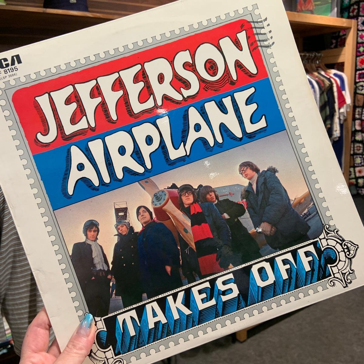 【今日のレコード】JEFFERSON AIRPLANE/Takes Off